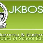 JKBOSE Class 12th Time Table