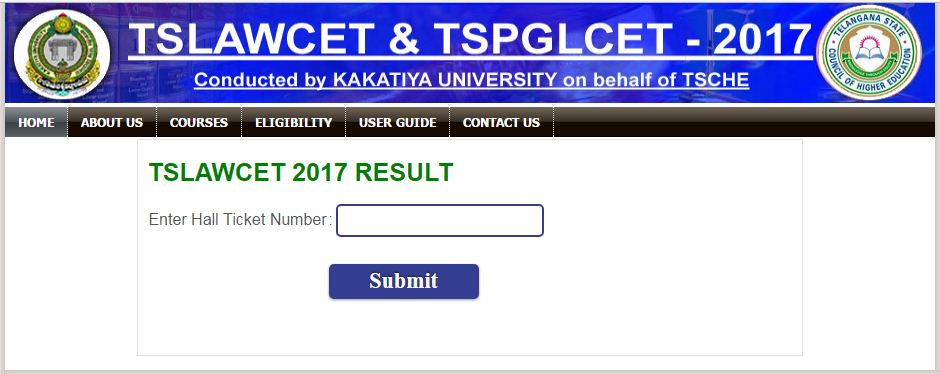 tslawcet 2017 result
