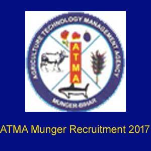 ATMA Munger Recruitment 2017