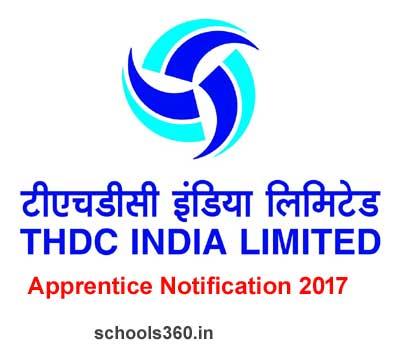 THDC Recruitment 2017