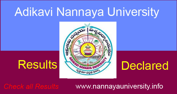 AKNU Degree Results 2019: UG 2nd,6th,4th Sem ఆదికవి నన్నయ