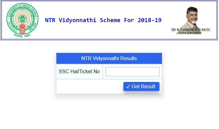 ntr vidyonnati results