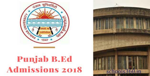 Punjab University B Ed Counselling 2018 – PU B Ed Seat Allotment