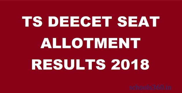 TS-DEECET-Seat-Allotment-Results