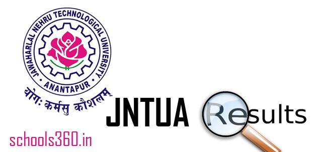 JNTUA B.Tech 3-2 Result