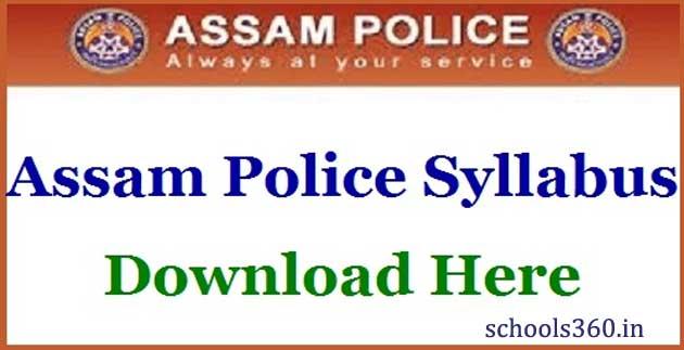 Assam-Police-Constable-Syllabus