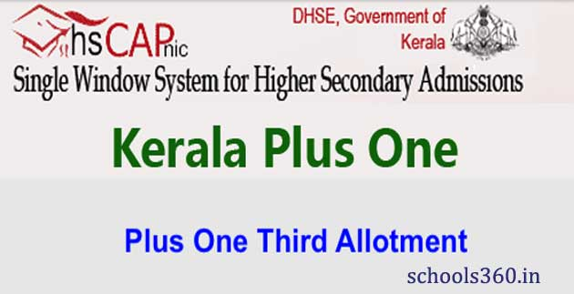 Kerala-+1-Third-Supply-Seat-Allotment-Results