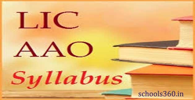 LIC-AAO-Syllabus