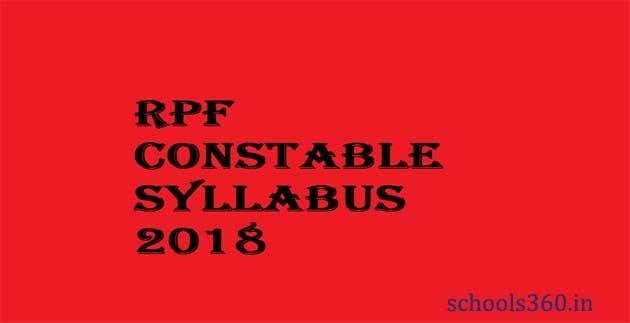RPF-Constable-Syllabus