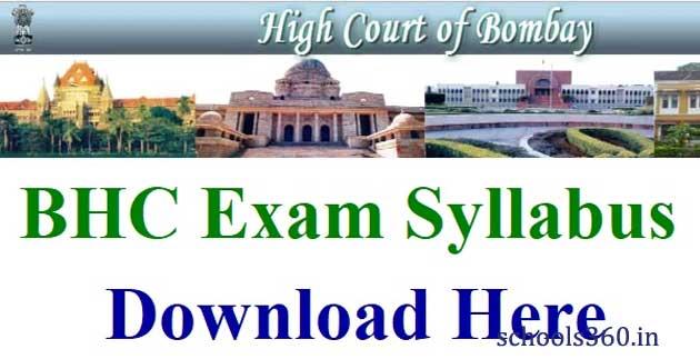 BHC-Clerk-Syllabus