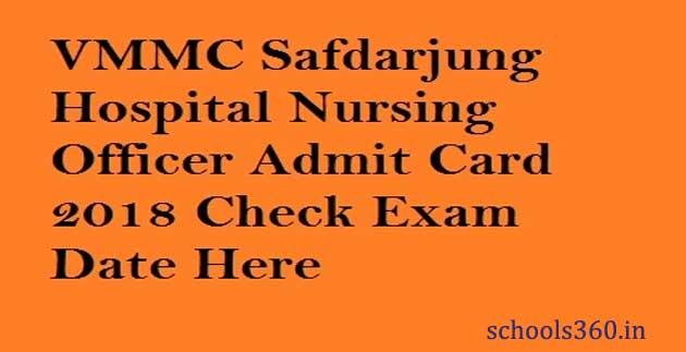 VMMC-Safdarjung-Admit-Card