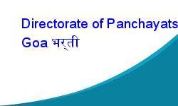 Directorate of Panchayats Recruitment