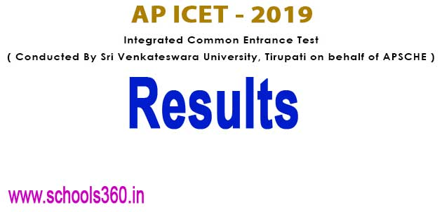 AP ICET 2019 Results (Announced) AP ICET Rank Card