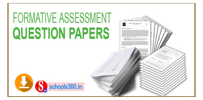 FA1 Question Papers Download 1st,2nd,3rd,4th,5th Class | AP