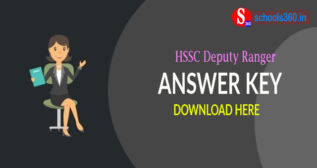 HSSC Deputy Ranger Answer Key