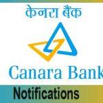 Canara Bank SO Results