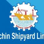 Cochin Shipyard Workmen Result