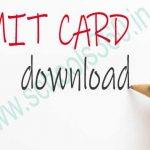 GMC Chhindwara Staff Nurse Admit Card
