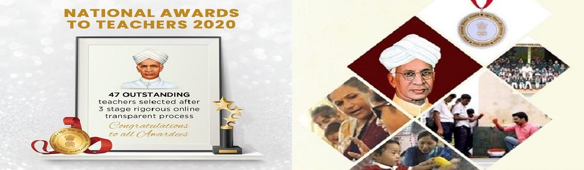 National Awards to Teachers
