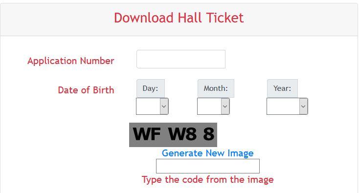 Hall Ticket RGUKT